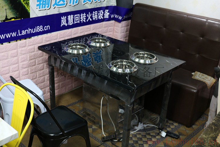 不銹鋼五金架火鍋一體桌